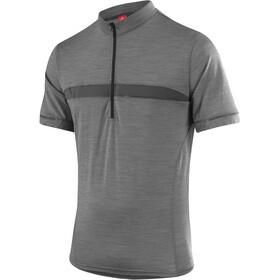 Löffler Merino Bike Jersey Shortsleeve Men grey